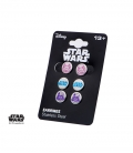 Set Boucles d'oreilles Star Wars Inox