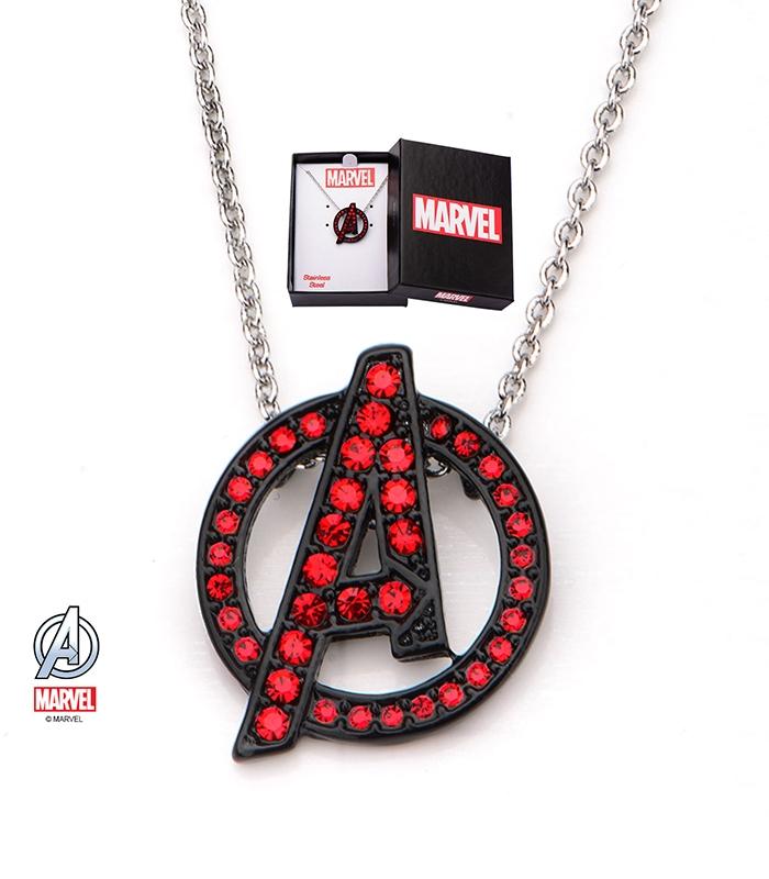 Marvel Pendant Stainless Steel Metal Symbol Avengers
