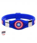 Bracelet silicone Captain America