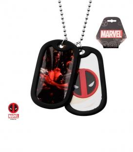 Pendentif Marvel militaire Deadpool