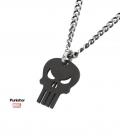 Black Punisher Marvel Pendant
