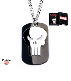 Gemstone Punisher Marvel Pendant