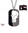 Black Military Punisher Marvel Pendant