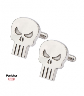 Stainless Steel Polished Punisher Cufflinks