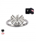 Marvel Shield Ring Stainless Steel Metal Us SIze 6