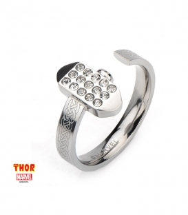 Marvel Thor Hammer Ring Gemstone Us SIze 6
