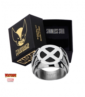 Bague Chevalière Marvel Logo Wolverine Taille US 10