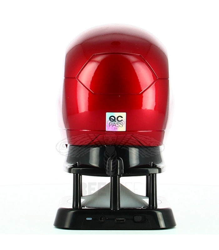 Mini iron man civil war m46 helmet bluetooth speaker - Mini iron man ...