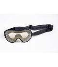Masque Mascherina Ethen Cafe Racer Noir/Gris