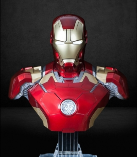 Iron Man M43 Bust Bluetooth HI-FI System Speaker Set