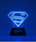 Superman Edge DC Comics Acrylic Light,