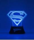 Superman Edge DC Comics Acrylic Light,