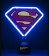Superman Small Neon Light