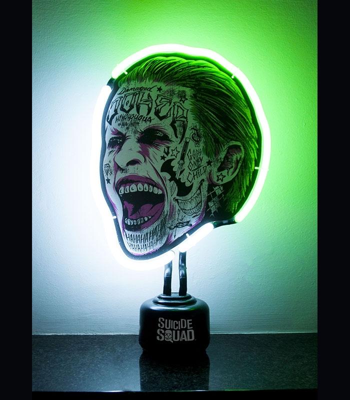 suicide squad joker dc comics mini neon. Black Bedroom Furniture Sets. Home Design Ideas