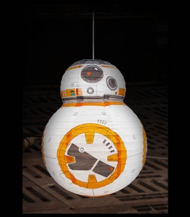 Abat-Jour Papier BB8 Star Wars