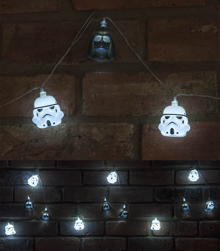 Vador Dark Lights Stormtrooper 3d Led hrsQtd