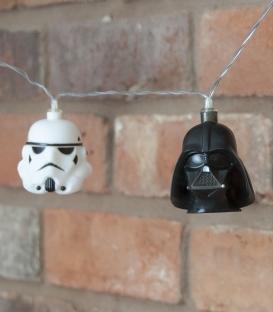 Stormtrooper and Darth Vader Star Wars 3D String Lights