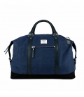 Sandqvist Jordan Weekender Bag Waxed Blue