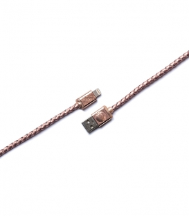 LIFESTAR Micro USB Cable Cross Rose Gold 1m