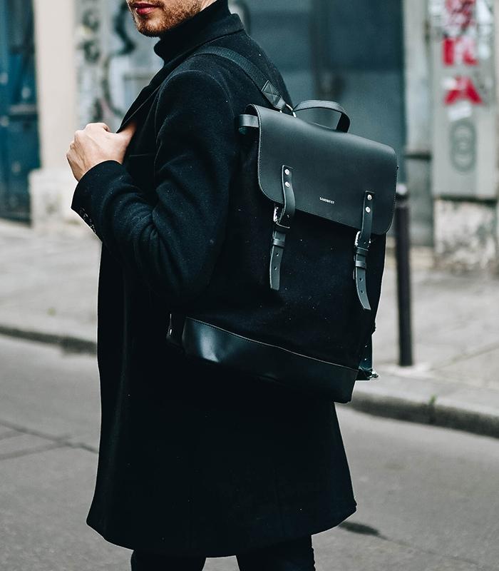 fc4c561265 Sandqvist Hege Black Backpack