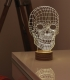 Lampe immersive Skull
