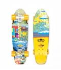 "Skate Dusters Locos Hamersveld 25"" Yellow Complete Cruiser"