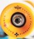 "Skate Dusters Locos Hamersveld 25"" Yellow Complete Longboard"