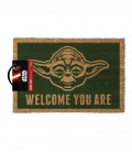 Paillasson Yoda Star Wars (Welcome you are)