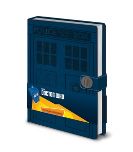 Doctor Who A5 Notebook (Tardis)