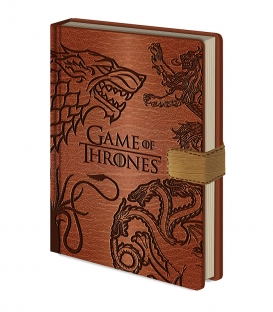Carnet A5 Game of Thrones premium Sigils