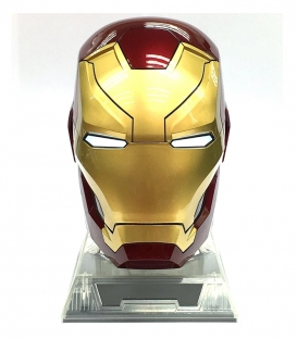 Enceinte Casque Iron Man Civil War Mk46 1:1 Bluetooth
