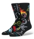 Stance Socks Anthem Neck Face Snake Eyes
