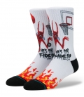 Stance Socks Anthem Neck Face On Fire