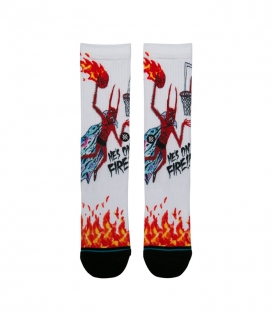 Chaussettes Stance Anthem Neck Face On Fire