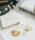 Ginko Earing goldplated