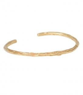 Bracelet Branch Cuff plaqué or Anna + Nina