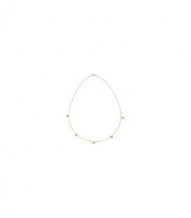 Multi Orb Necklace Goldplated