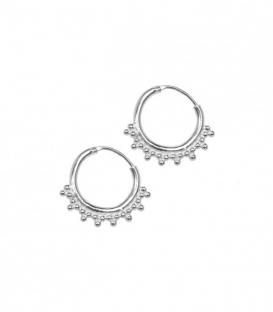 ANNA+NINA Tiny Goa Earring Silver