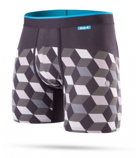 Stance Boxer Cubes Grey