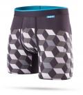 Stance Boxer Cubes Grey