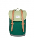Sandqvist Mini Stig Backpack Multi Sage/Forest Green/Grey