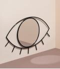 DOIY Cyclops Wall mirror M size black