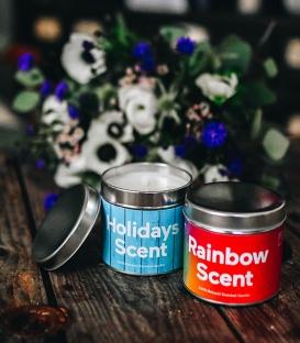 DOIY Rainbow Emotion Candle