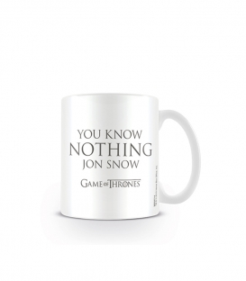 Game of Thrones Mug à café (You know nothing Jon Snow)