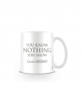 Game of Thrones coffee Mug (You know nothing Jon Snow)