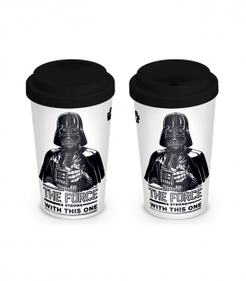 Star Wars Travel Mug (The Force is Strong)