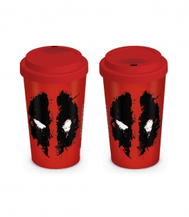 Travel Mug Deadpool Splat