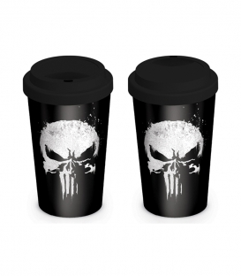 The Punisher Travel Mug (Skull)