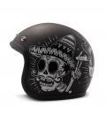 DMD Vintage Jet Helmet Sin Fin