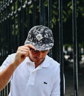 Obey Dark Orchid Throwback Cap